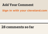 My Cleveland Comments